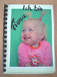 Ich Buch Grundschule Vorlage